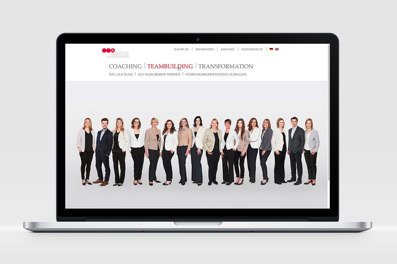 3k Personalberatung Corporate Website mehrsprachig